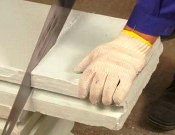 Пазогребневые плиты просты в обработке